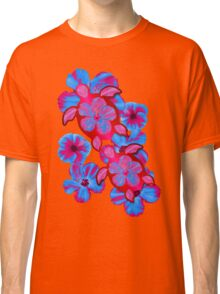 Tropical Honu And Hibiscus Classic T-Shirt