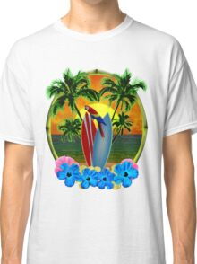 Parrot And Surfboards Classic T-Shirt