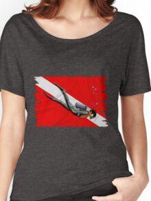 Diving Women's Relaxed Fit T-Shirt