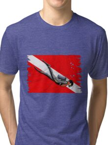Diving Tri-blend T-Shirt