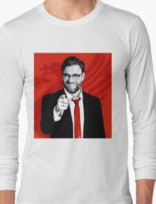 Jurgen Klopp of The Kop Long Sleeve T-Shirt