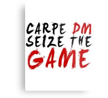 Carpe DM, Seize The Game - Dungeons & Dragons Metal Print