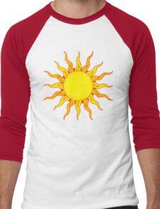 Grunge Sun Men's Baseball ¾ T-Shirt