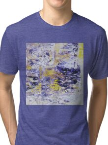 Path to the Light - Original Wall Modern Abstract Art Painting Original mixed media Tri-blend T-Shirt