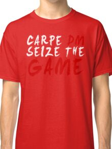 Carpe DM, Seize The Game - Dungeons & Dragons (White) Classic T-Shirt