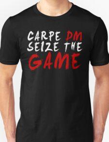 Carpe DM, Seize The Game - Dungeons & Dragons (White) Unisex T-Shirt