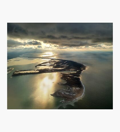 Presque Isle From the Air Photographic Print