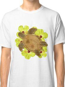 Hawaiian Honu Map Classic T-Shirt