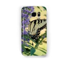 Tiger Swallowtail On Chaste Tree Number 2 Samsung Galaxy Case/Skin