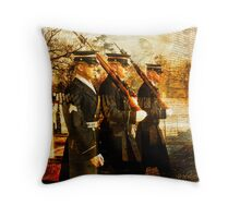 Tribute to the Fallen Throw Pillow
