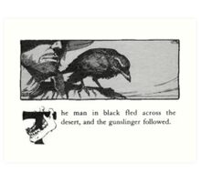 The Dark Tower - Stephen King Art Print