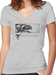 The Dark Tower - Stephen King Women's Fitted V-Neck T-Shirt