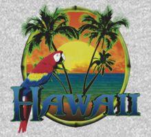 Hawaii Sunset Kids Tee