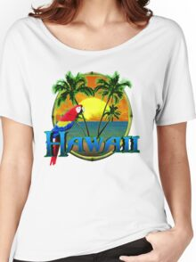 Hawaii Sunset Women's Relaxed Fit T-Shirt