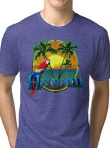 Hawaii Sunset Tri-blend T-Shirt