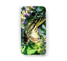 Tiger Swallowtail On Chaste Tree Samsung Galaxy Case/Skin