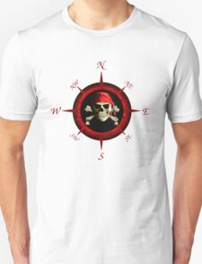 Pirate Compass Rose Unisex T-Shirt
