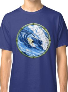 Surfing The Pipe Classic T-Shirt