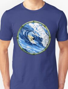 Surfing The Pipe Unisex T-Shirt