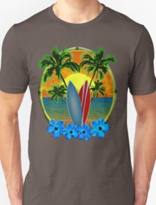 Sunset And Surfboards Unisex T-Shirt