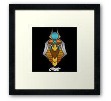 Horus 2016  Mascot logo Framed Print