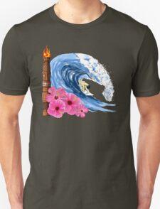 Hawaiian Surfing Unisex T-Shirt