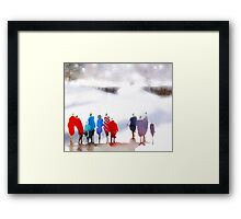 Icescape Framed Print