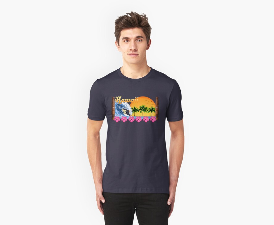 Hawaii Surf by BailoutIsland