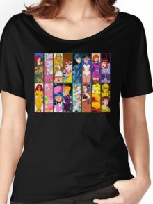 80s Girls Totally Radical Cartoon Spectacular!!! - WOMEN OF ACTION EDITION! Women's Relaxed Fit T-Shirt