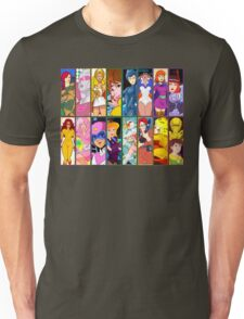 80s Girls Totally Radical Cartoon Spectacular!!! - WOMEN OF ACTION EDITION! Unisex T-Shirt