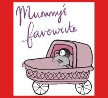 Mummy's Favourite Baby Penguin One Piece - Short Sleeve