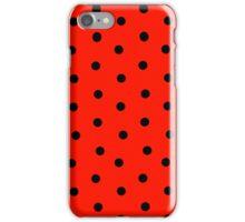 Ladybug Print iPhone Case/Skin