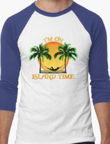 Island Time Men's Baseball ¾ T-Shirt
