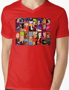 80s Girls Totally Radical Cartoon Spectacular!!! - BAD GIRLS EDITION! Mens V-Neck T-Shirt