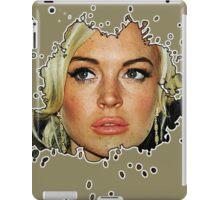 LL SPLAT MILANO WHITE EDGE iPad Case/Skin
