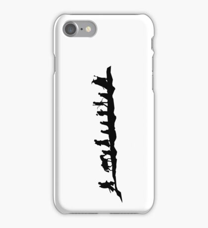 The Fellowship of The Ring (black) iPhone Case/Skin