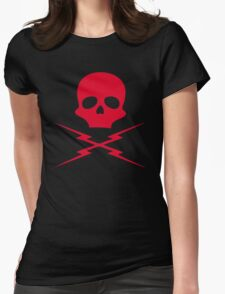 Death Proof, Red Label! Womens Fitted T-Shirt