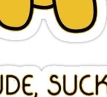 Yellow Dog adventure time Sticker