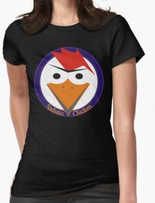 Sadistic Chicken roundel Womens Fitted T-Shirt