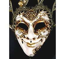 Marti Gras Mask Photographic Print