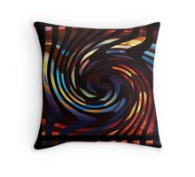 Turning burning Throw Pillow