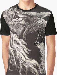 Modern Lion Graphic T-Shirt