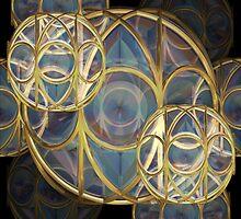 Glass Baubles by Deirdre Reynolds