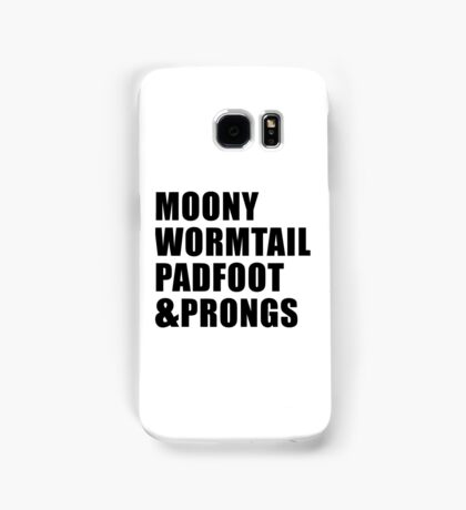 Moony, Wormtail, Padfoot & Prongs Samsung Galaxy Case/Skin