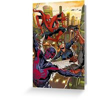 Spiderman Phone Case Greeting Card