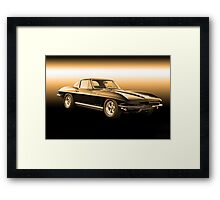 1965 Corvette Stingray Coupe Framed Print