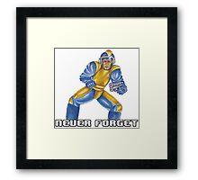 Bad Box Art Mega Man Framed Print