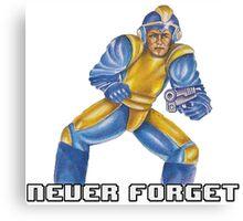 Bad Box Art Mega Man Canvas Print