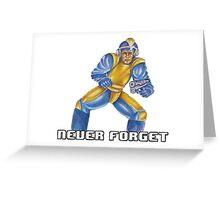 Bad Box Art Mega Man Greeting Card