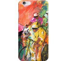 The Yellow River Of The Tour De France iPhone Case/Skin